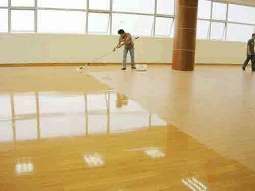 PVC(塑膠)地板打蠟