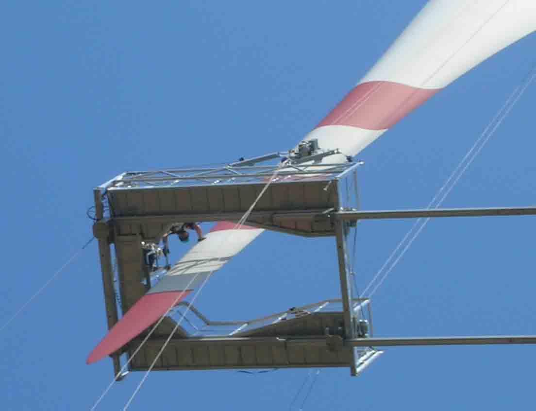 風力發電塔筒清洗